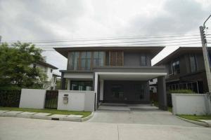 ขายบ้านพัฒนาการ ศรีนครินทร์ : ขายบ้านเดี่ยว‼️บ้านใหม่ ยังไม่ได้เคยเข้าอยู่ โครงการ บุราสิริ พัฒนาการ (H1209)