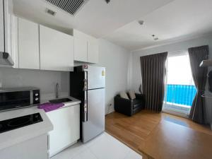 For SaleCondoRatchathewi,Phayathai : 🔥 Very good price, very low price, beautiful decoration, ready to move in, good location, near MRT Ratchatawi 🔥 ready to end every dew Condo Lette Ize 1 bedroom 1 bathroom Make an appointment for viewing 24 hours Tel.088-111-3060