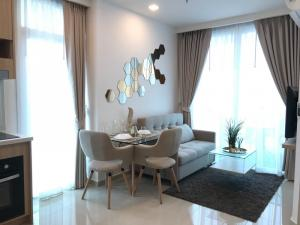For RentCondoPattaya, Bangsaen, Chonburi : For rent 1 Bed, corner room, good view, City Garden Tower, fully furnished, ready to move in!!