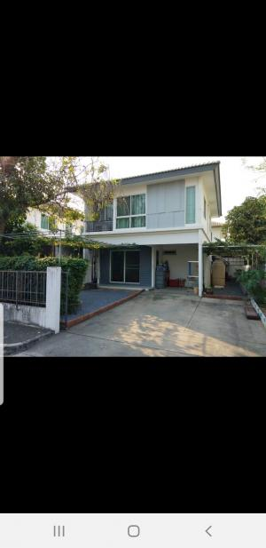 For RentHouseRangsit, Patumtani : ++For Rent++ Single House Inicio 1, along Khlong Sam, ready to move in.