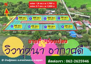 For SaleLandAyutthaya : 👉 Selling cheap, Lat Bua Luang district, Ayutthaya province. Free English house style.