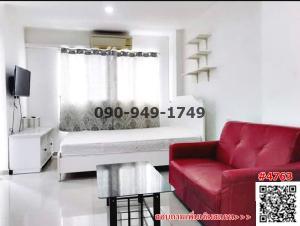 For RentCondoNawamin, Ramindra : Condo for rent, Lumpini Ramintra-Nawamin Km. 8, ready to move in.