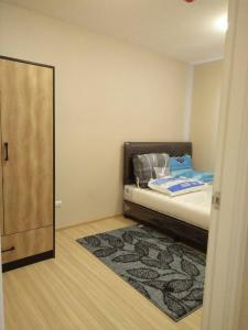 For RentCondoChengwatana, Muangthong : 7300.-/mord at Plum Condo Chaengwattana Station, Phase 2, size 26 sqm., fully furnished, electrical appliances **There is a washing machine