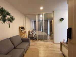 For RentCondoOnnut, Udomsuk : Condo for rent Chambers Onnut Type 1 bedroom 1 bathroom Size 27.5 sq.m. Floor 7