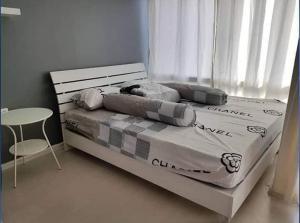 For RentCondoOnnut, Udomsuk : For rent, The Log 3 Sukhumvit 101/1, fully furnished, unblocked view.