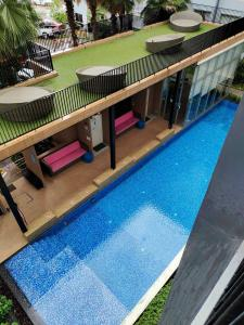 For RentCondoBangbuathong, Sainoi : For rent *pool view* Plum Condo Bangyai