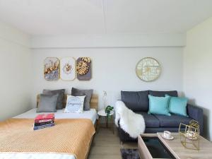 For SaleCondoRama9, RCA, Petchaburi : Quick sale! Condo Living Place, Research Center 14, 4th floor, 33 sqm., cheapest in Ekkamai