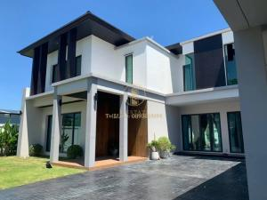 For RentHousePattanakan, Srinakarin : For rent, 2 storey detached house, Eua Suk Village, Phatthanakan 58, fully furnished, ready to move in. Special price ‼