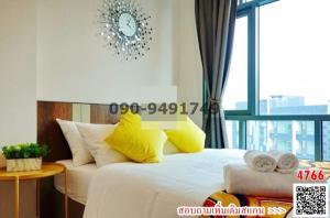 For RentCondoBang Sue, Wong Sawang : Condo for rent METRO SKY Bang Sue - Prachachuen, beautiful room, ready to move in