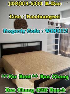 เช่าคอนโดระยอง : Ban Chang Cliff Beach *** Condo for Rent *** Ban Chang +++ Sea View +++