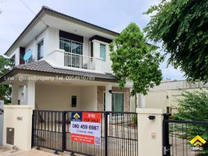 For SaleHouseChengwatana, Muangthong : Quick sale, 2 storey detached house, Manthana Village, Chaengwattana-Ratchapruek, behind the corner, completely renovated.