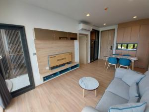 For RentCondoOnnut, Udomsuk : Condo for rent KAWA HAUS Type 2 bedroom 1 bathroom Size 51 sq.m. Floor 7