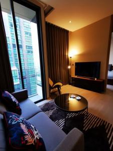 For RentCondoSukhumvit, Asoke, Thonglor : Condo for rent KAWA HAUS Type 1 bedroom 1 bathroom Size 44 sq.m. Floor 16