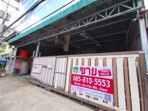 For SaleHouseRangsit, Patumtani : One-story house for sale, 60 sq m., Four Corners Market, Rangsit, cheap price 8.49 million baht.