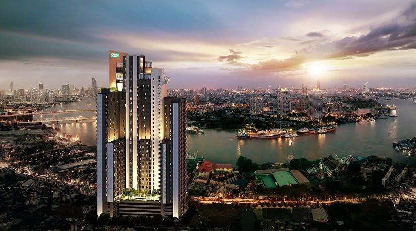 Sale DownCondoWongwianyai, Charoennakor : Niche Mono Charoen Nakorn Condominium For Sale.