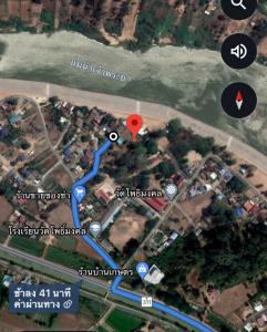 For SaleLandChai Nat : Land for sale near the Chao Phraya River.