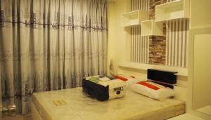 For RentCondoThaphra, Wutthakat : Condo for rent, Aspire Sathorn-Thapra, size 30.5 sq.m., next to BTS Talat Phlu.