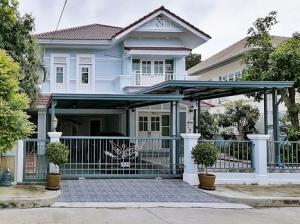 For RentHouseSamrong, Samut Prakan : Luxury Single House for Rent, Ananda Beach Life Bangna 3-bedroom