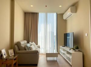 For RentCondoSukhumvit, Asoke, Thonglor : Condo for rent Noble Recole Sukhumvit 19 Type 1 bedroom 1 bathroom Size 35.14 sq.m. Floor 24