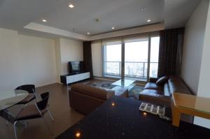 For RentCondoWongwianyai, Charoennakor : Condo for rent The River Type 2 bedroom 3 bathroom Size 110 sq.m. Floor 56