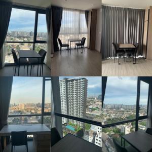 For RentCondoBang Sue, Wong Sawang : Corner room, big room, high floor, cheap price