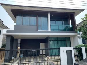 ขายบ้านพัฒนาการ ศรีนครินทร์ : ขายบ้านเดี่ยว 2 ชั้น (H1223) หมู่บ้านเศรษฐสิริ กรุงเทพกรีฑา
