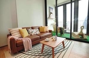 For RentCondoSukhumvit, Asoke, Thonglor : Condo for rent, Bang Krachao water curve view, BEATNIQ Sukhumvit 32, 55 sqm., near shopping centers in the heart of the city.