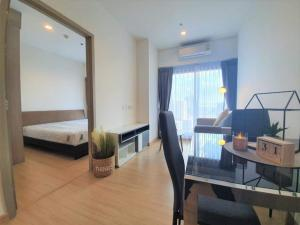 For SaleCondoOnnut, Udomsuk : For SALE🔥 Very good price, beautiful room, good view, fully furnished, fully furnished. Ready to move in ✅ Whizdom Connect