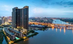 For SaleCondoRattanathibet, Sanambinna : Selling The Politan Reef, Nonthaburi, 38th floor, area 52 sqm., BTS view.