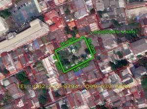 For SaleLandSathorn, Narathiwat : Land for sale in Sathorn 1 rai 2 ngan 2 square wa.