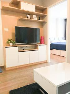 For RentCondoThaphra, Wutthakat : For rent U Delight @ Talat Phlu Station  1Bed , size 30 sq.m., Beautiful room, fully furnished.