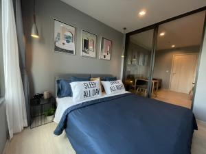 For RentCondoWitthayu,Ploenchit  ,Langsuan : Condo for rent Life One Wireless 💥Decorated in modern cocy style💥, focusing on naturalness Northeastern balcony, garden view, fully furnished, complete electrical appliances, built-in furniture, beautiful, you must like it. 1 Bedroom Plus, size 35 sq.m.,