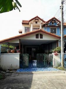 For SaleTownhouseRangsit, Patumtani : Quick sale, 2-storey townhouse, ready to move in, area 21.5 sq m. Kachinuch Village, Ratchaphruek Road, Lat Lum Kaeo, Pathum Thani.