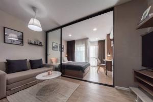 เช่าคอนโดรังสิต ธรรมศาสตร์ ปทุม : 💕 ให้เช่าห้องสวยคอนโด Kave Town Space ตึก A ชั้น 5 แต่งครบ พร้อมอยู่ได้เลย