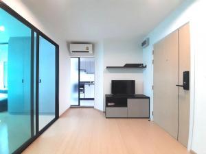 เช่าคอนโดพระราม 9 เพชรบุรีตัดใหม่ : ให้เช่า Rise Rama 9 (ไรส์ พระราม9) 1 นอน ตึก C เฟอร์ครบและเครื่องซักผ้า 8,500 บาท