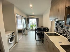 For RentCondoPinklao, Charansanitwong : Code PLC7 The Parkland Charan-Pinklao, 1 bedroom, open kitchen, size 30 sq.m., pool view