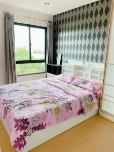 เช่าคอนโดบางนา แบริ่ง : ให้เช่า/ขาย ไอคอนโด สุขุมวิท 105 ใกล้BTSแบริ่ง 2ห้องนอน 2ห้องน้ำ 48ตรม.,ชั้น6 เฟอร์ครบ