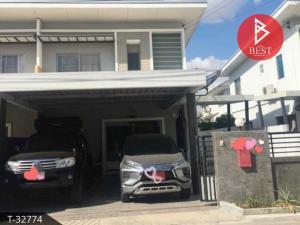 For SaleHousePattaya, Bangsaen, Chonburi : Twin house for sale, Life Banglamung Village, Chonburi.