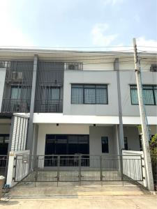 For RentTownhouseLadkrabang, Suwannaphum Airport : LBH0168 Townhome for rent, 2 floors, STORIES Bangna-Suvarnabhumi, new house.