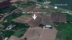 For SaleLandAng Thong : Hot, money, definitely going to profit, future location 10 rai 1 ngan 49 square wah