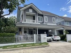 For SaleHouseYothinpattana,CDC : Quick sale, single house. 2 floors, area 58 sq wa, usable area 164 sq m, 3 bedrooms, 3 bathrooms, Panya-Ramintra Road. Near Fashion Island, selling price 6.5 million baht.