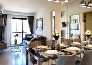 For RentCondoRama9, RCA, Petchaburi : Condo for rent 2 bedrooms life asoke