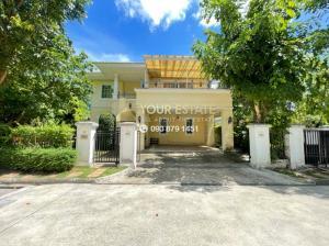 เช่าบ้านพระราม 5 ราชพฤกษ์ บางกรวย : บ้านว่างให้เช่า  หมู่บ้าน Golden Heritage บ้านสวยหรูติดถนนราชพฤกษ์