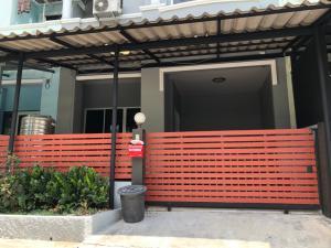 For SaleTownhouseSamrong, Samut Prakan : Townhouse for sale, 2 floors, 19.5 sq m, Lully Ville 1