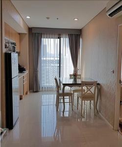 ขายคอนโดพระราม 9 เพชรบุรีตัดใหม่ : Sales Villa Asoke  For Sales 5.151MB With Luxury furniture Built-in 400K (Facing West)
