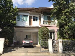 For SaleHouseBang Sue, Wong Sawang : 2 storey detached house for sale, Setthasiri Village, residence 2, Prachachuen, area of 90 square meters, 3 bedrooms, 3 bathrooms.