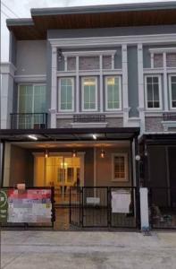 เช่าทาวน์เฮ้าส์/ทาวน์โฮมลาดกระบัง สุวรรณภูมิ : BH1043 ให้เช่าทาวน์โฮม2ชั้น 4ห้องนอน 3ห้องน้ำ โกลเด้นทาวน์3 บางนา สวนหลวง พร้อมอยู่ บ้านตกแต่งสวย