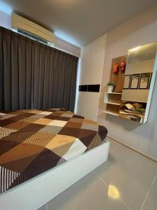 For SaleCondoLadprao101, The Mall Bang Kapi : 🔥 Urgent sale!!!! Plum Condo Ladprao 101 Studio, fully furnished, 22.5 sq m., fully furnished, ready to move in.