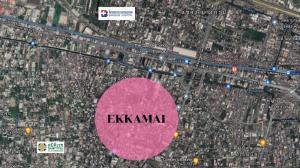 For SaleLandSukhumvit, Asoke, Thonglor : Land for sale, beautiful plot, in the heart of Ekkamai, size 100 sq m.