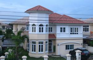 For SaleHouseBangbuathong, Sainoi : 2 storey detached house for sale near the train station
